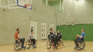 Player encourages others to take up wheelchair sports