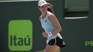 Johanna Konta through to Miami Open fourth round