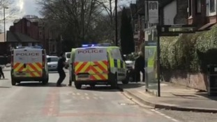 Police officer left with injuries to face and shoulder after sword attack