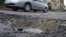 Councillor Keith Little says it would cost around £300m repair all the roads in the county