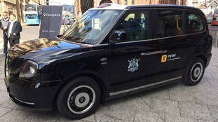 The new electric hackney cab