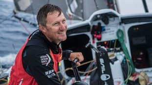 John Fisher fell from the yacht whilst taking part in a round-the-world race.