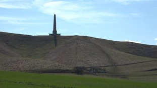 The Lansdowne Monument has had scaffolding at its base for the last 8 years.