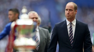 Prince William has been President of the Football Association for 12 years.