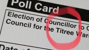 'Taking the p': 'Shambolic' error on polling card misspells Tiptree
