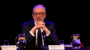 Lord Bob Kerslake delivers his report