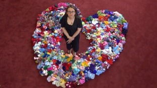 Labour of love - Gloucester widow's amazing knitting project