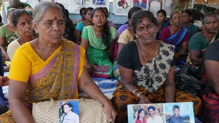 Mothers of Sri Lanka's 100,000 'disappeared' desperately looking for answers