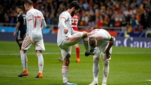 Isco bags hat-trick as Spain hit Argentina for six