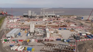 Hinkley Point C construction site