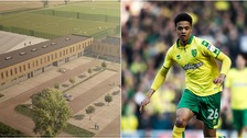 Norwich City will be hoping their new academy (left) will produce more players like Jamal Lewis (right).