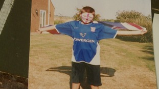 Nick always dreamt of playing for Ipswich Town.