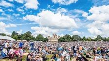 The crowds at Splendour Festival