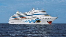 The AIDAaura is scheduled to stop in Guernsey during the 2018 cruise season