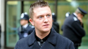 Former EDL leader Tommy Robinson suspended from Twitter