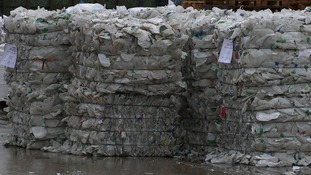 Current council recycling collection schemes could become 'unworkable'.