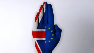 Britain will wave goodbye to the EU in two stages.