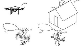 Amazon patents new design which could mean drones can be hailed like cabs