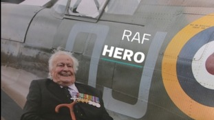 One of the last surviving Battle of Britain pilots shares his memories
