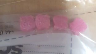 Police warning to parents over pink ecstasy tablets