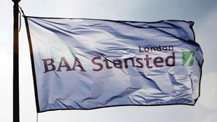 BAA's old flag at Stansted Airport
