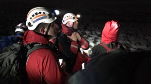 Around 40 people took part n the rescue