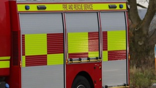 Registrar rescued by firefighters
