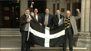 St.Dennis protesters, High Court, London