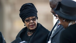 Winnie Mandela was married to Nelson Mandela for 38 years.