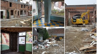 Ghost town: urban explorer photographs the old Coronation Street set as bulldozers move in