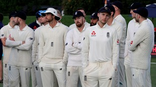 Home-ward bound England draw final day as New Zealand claim series win