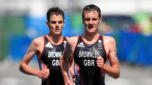 The Brownlees are both highly-successful triathletes.