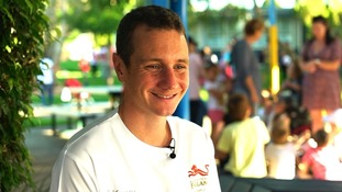 Alistair Brownlee 'over the moon' to be England flag bearer at Gold Coast Commonwealth Games