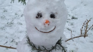 """Nick"" the snowman"