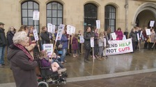 Protest held in Bradford