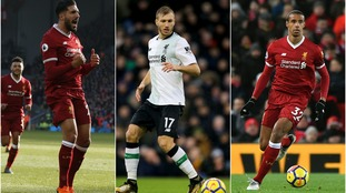 Liverpool suffer a number of injury blows ahead of Man City Champions League clash