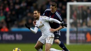 Swansea face Stoke