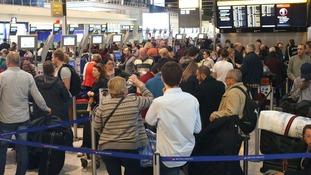 Around half of all European flights face delays after computer failure