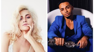 Pixie Lott and Aston Merrygold