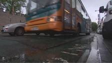 Cardiff bus lane