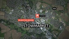 The woman was raped in Stowmarket.