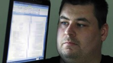 Shaun Coffell, 29, found a number of files belonging to Sunderland City Council on the laptop