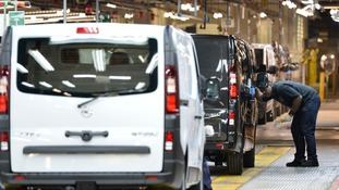 Around 100,000 vans a year will be built at the plant.