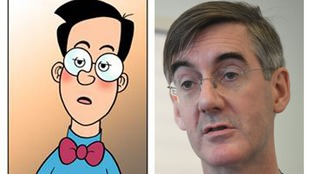 Children's comic Beano accuses Jacob Rees-Mogg of copying character Walter the Softy