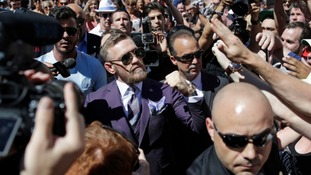 Conor McGregor hits back after UFC strips title