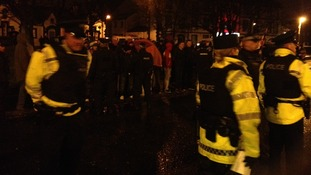 Police in Carrickfergus