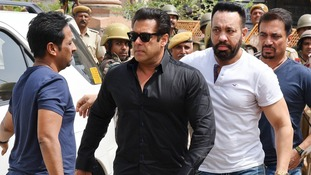 Bollywood superstar Salman Khan jailed for poaching