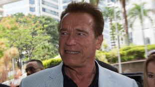 Arnold Schwarzenegger leaves hospital after a heart procedure