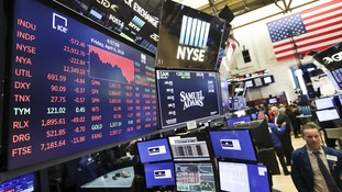 Technology companies, banks, industrial and health care stocks sank.