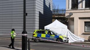 Hackney crime scene